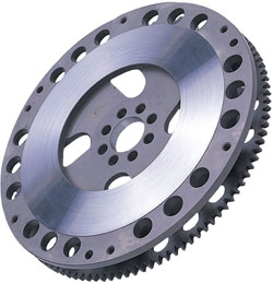 When selecting a replacement flywheel you might decide to go for a lighter model to improve performance.