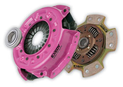 High performance clutch kits often known as button clutches or puck clutches.