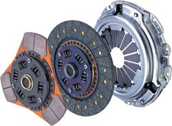 Sports and racing clutch kits by Exedy.